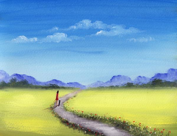 A Walk In The Countryside by Sarah Featherstone