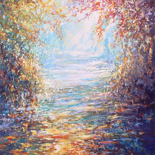 Canal Passage(On Display At Malvern Theatres From 25th August) by Mariusz Kaldowski