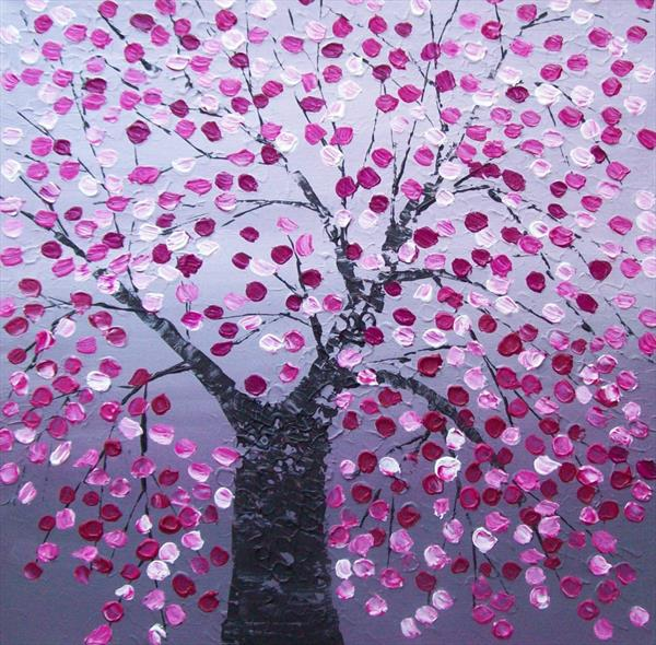 Abstract Blossom Tree