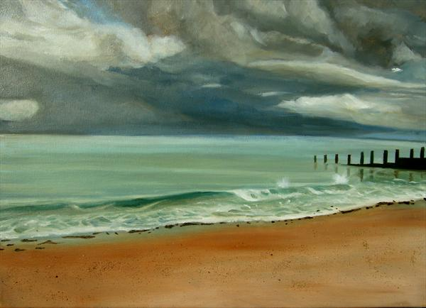 Peaceful Sea by Mary Stubberfield