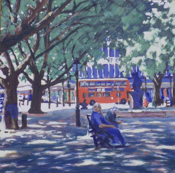 Lunch in Sloane Square by Louise Gillard