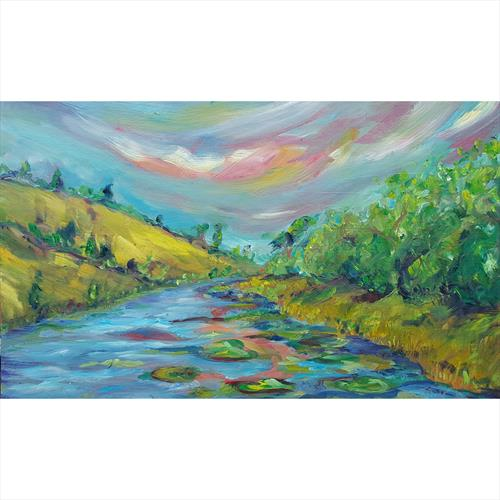 Evening over Castle Lake by niki purcell
