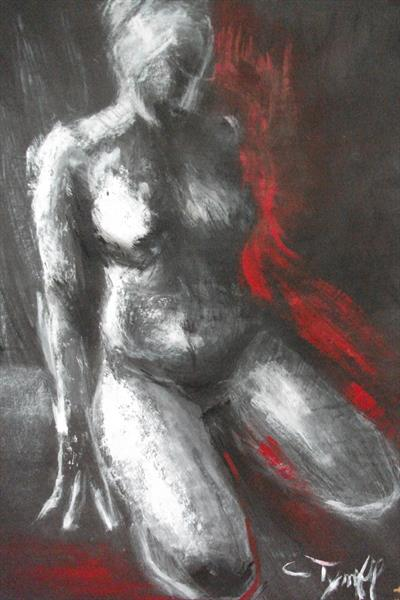 Hot Front - Female Nude by Carmen Tyrrell