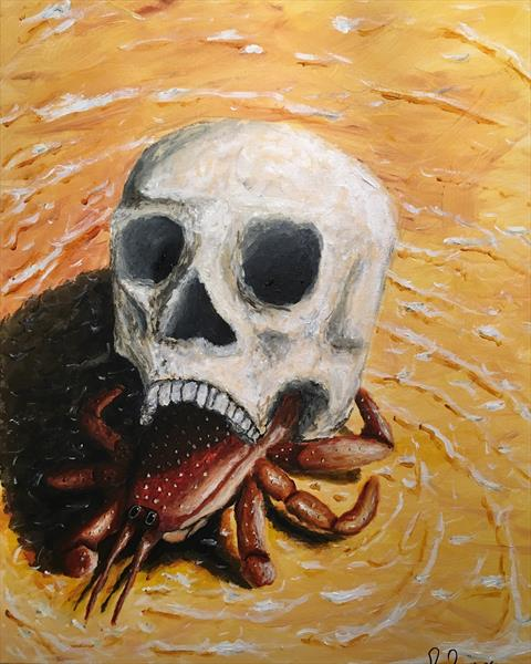 Skull Crab by Ritchie Powles