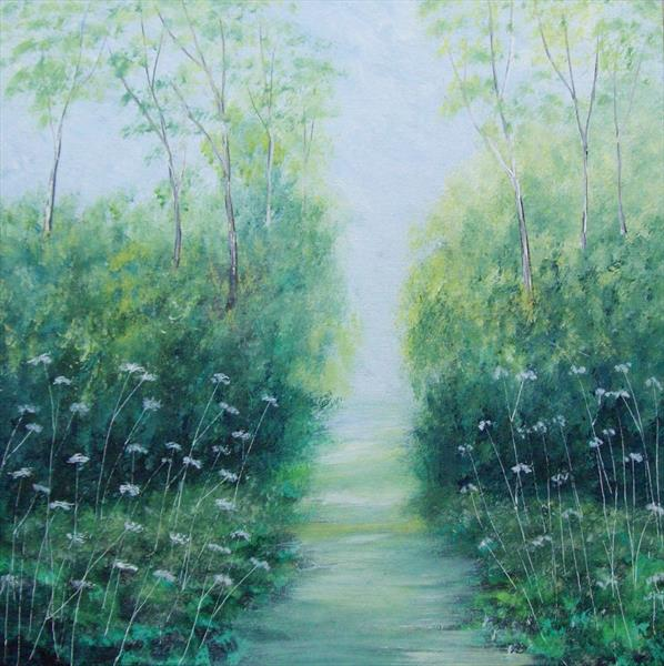 Woodland Path by Patricia Richards