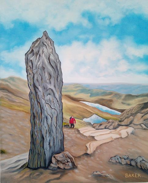 Snowdon - The Marker Stone by Tommy Baker