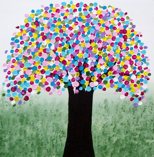 The Rainbow Tree 2# by Patricia Richards