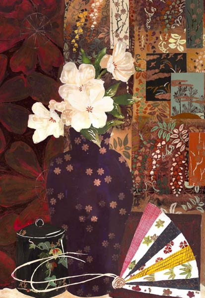 Japanese Flowers and Patchwork