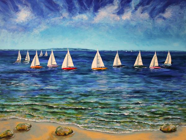 Sails Near and Far by Sandra Francis
