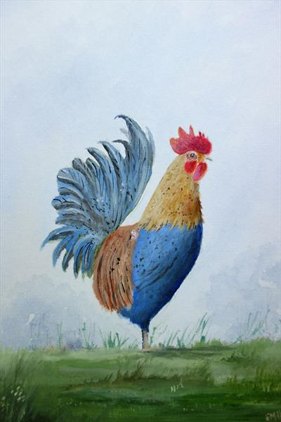 Rooster 2 by Eric Hattrell