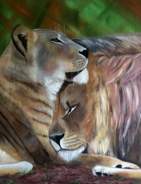 The Lions. Portrait by Ira Whittaker
