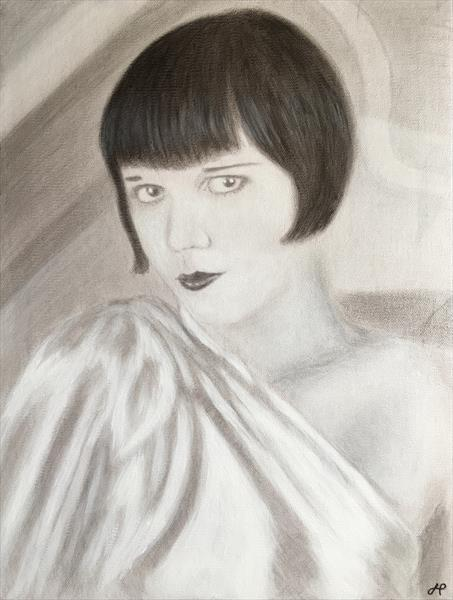 Louise Brooks by John Prince