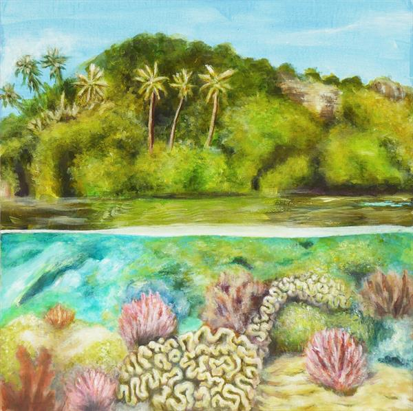 Coral Reef 1 by Jacqueline Talbot