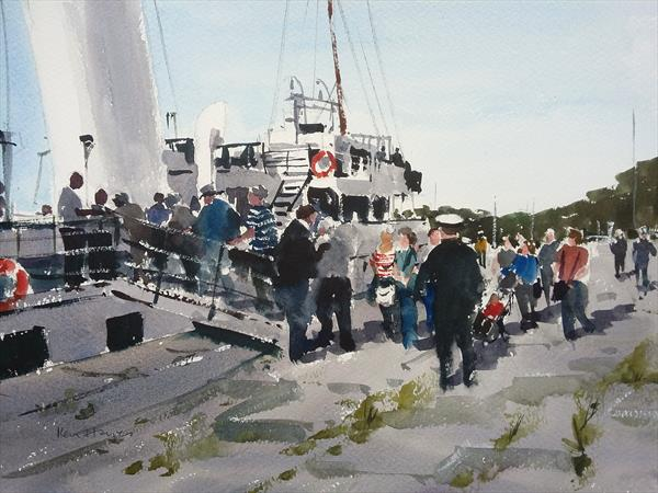 Boarding the Balmoral by Ken  Hayes