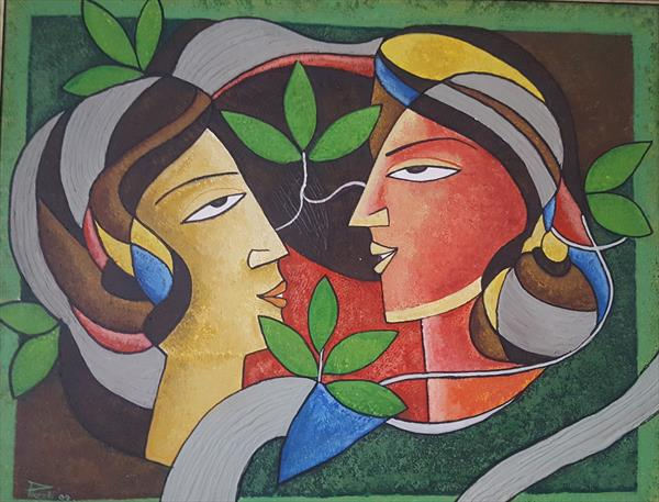 Adam and Eve by Preeti Anand