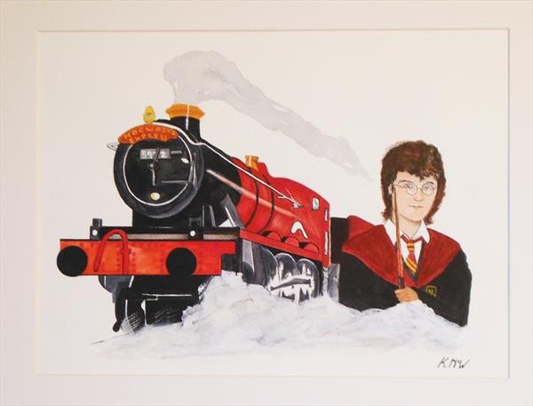 Harry and the Train by Kenneth A. Mc Williams