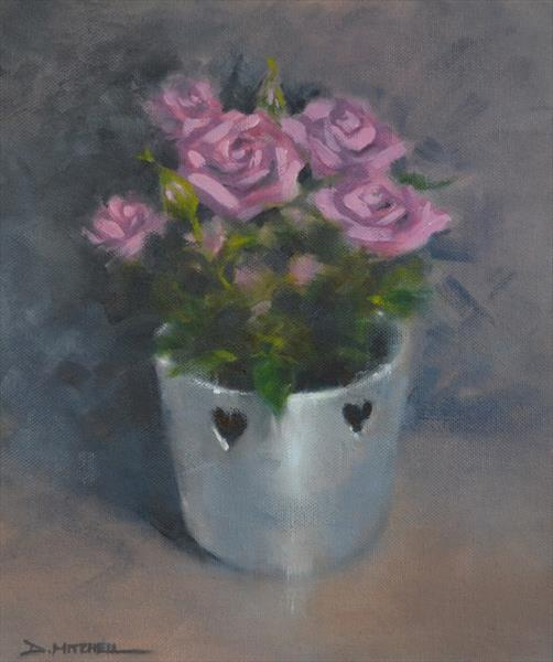 Love Hearts & Roses by Denise Mitchell
