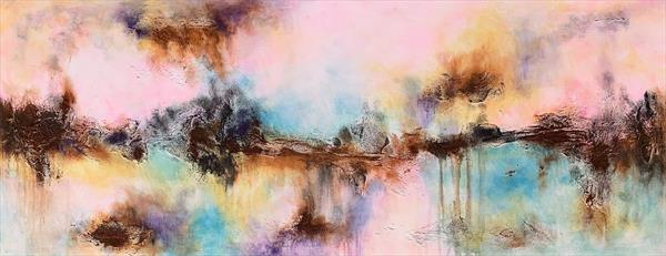 """59x 23,5""""( 150x60cm), Magnificent Earth 17 by Veronica Vilsan"""