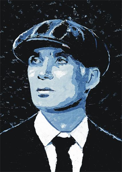 Tom Shelby Peaky Blinder by David Byrne