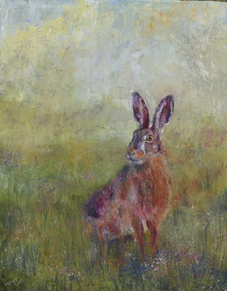 Meadow Hare by Jeremy Mayes