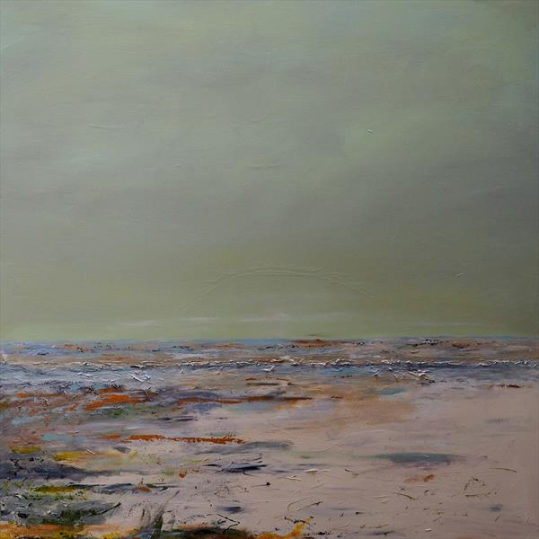 Green Sky Seascape by Timothy Huitson