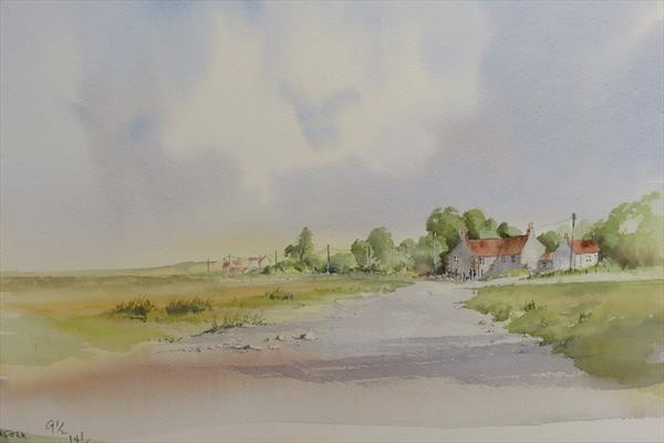 Salthouses Norfolk by Robert Jennings