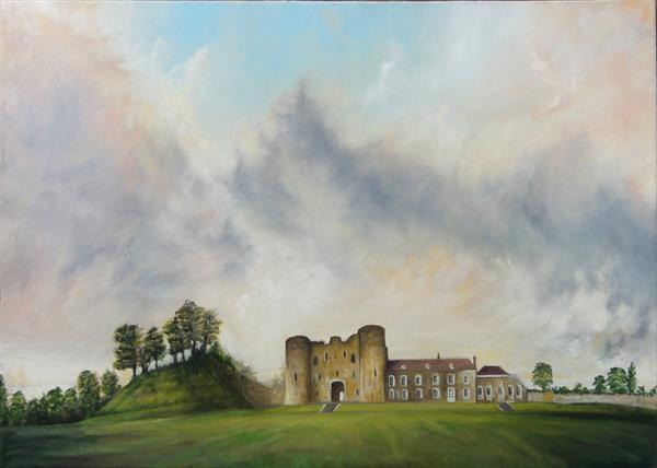 Tonbridge Castle by Carl Latter
