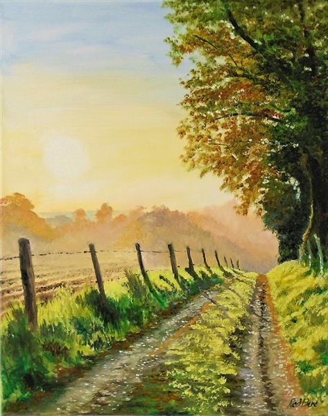 Road into Autumn by Rod Bere