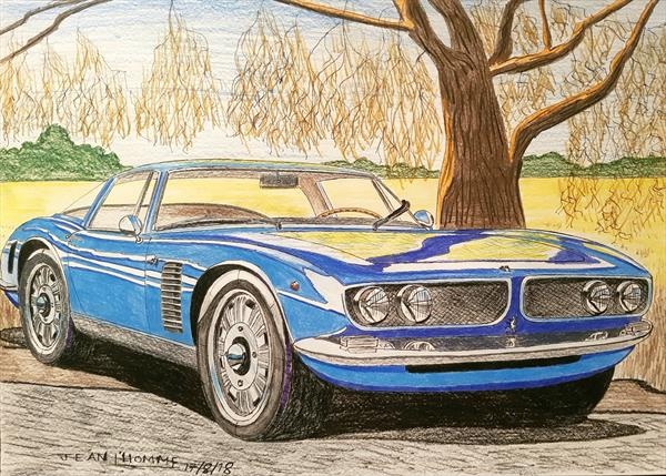 1968 Iso Grifo  by Jean L'Homme
