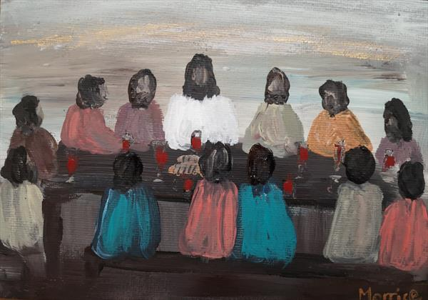 The Last Supper by cheryl Morrice
