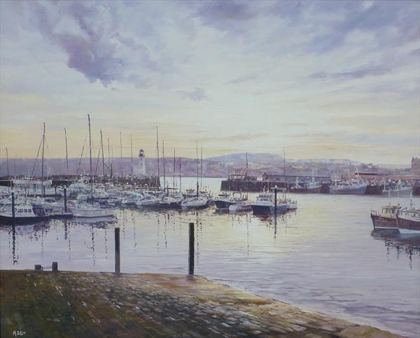 Scarborough Harbour by Michael Salt