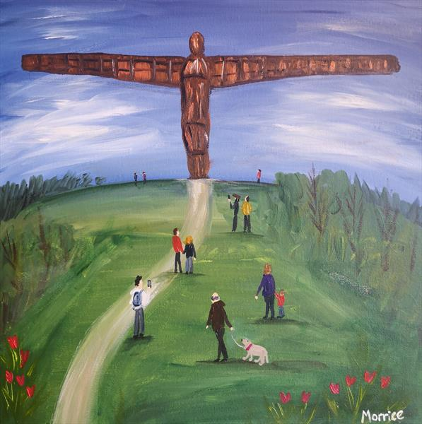 I'd rather be at Gateshead  by cheryl Morrice