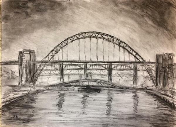 Tyne Bridges  by Gavin Engelbrecht