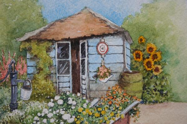 The Garden Shed by Christopher Hughes