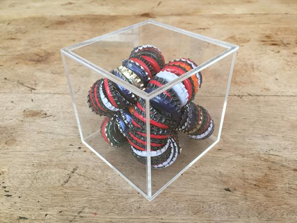 Bottle top coil No.2 by Tanya Heal
