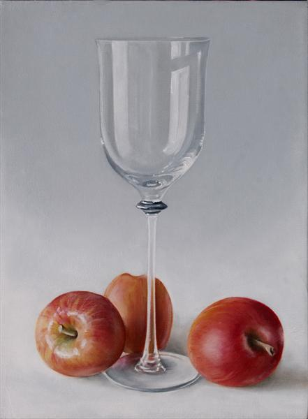 Apples With Glass
