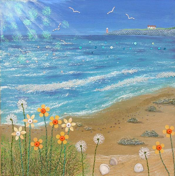 A Bright Day by the Sea by Josephine Grundy