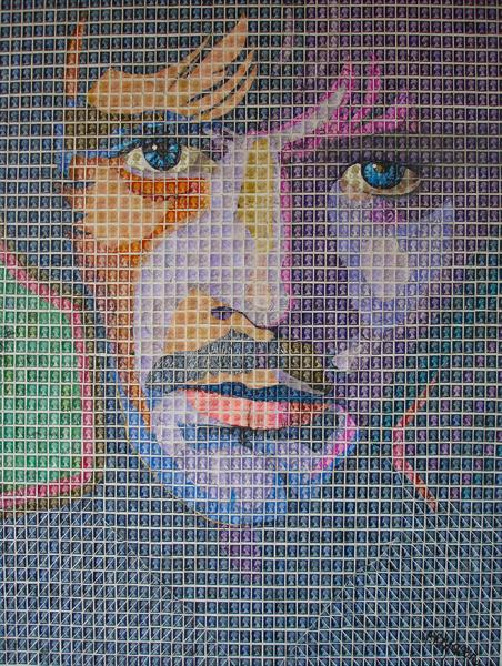 Terence Stamp by Peter Mason