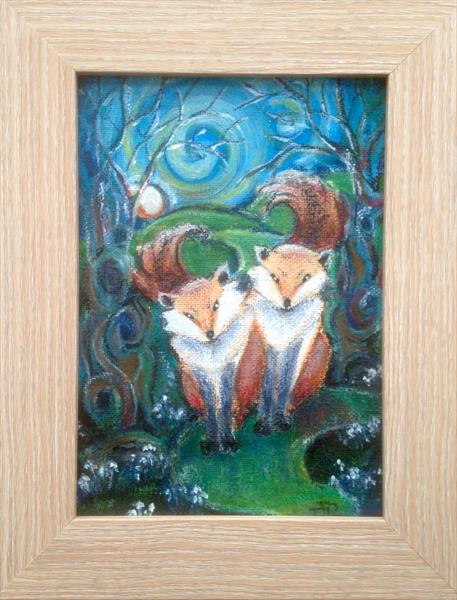 Foxy Forest Friends  by Theresa  Robinson