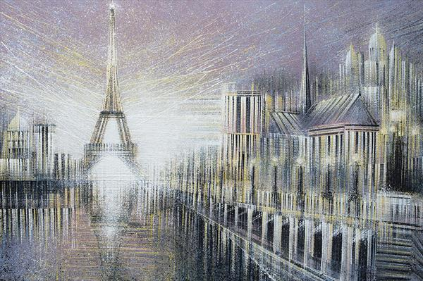 Paris. A Fantasy Landscape by Marc Todd