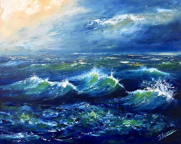 All at sea by June Gordon