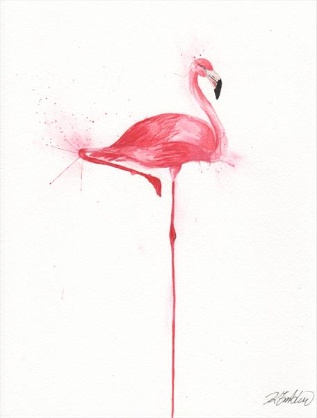 Flamingo by Kelsey Emblow