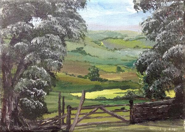 Cranborne Chase in Dorset by Marja Brown