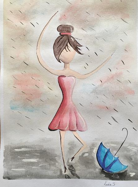 Dancing In The Rain by Kadie Stebbing