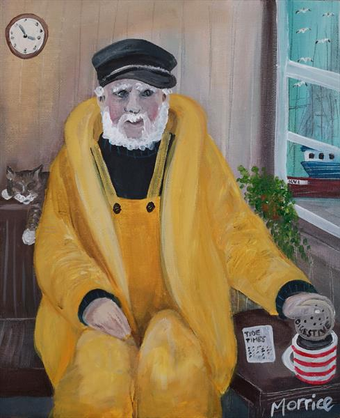 The harbourmaster's cat  by cheryl Morrice