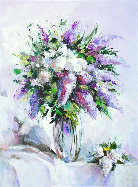 Bouquet of lilac by Inna Stone