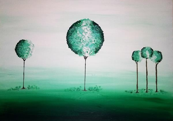 Tranquil Trees Two 23.4