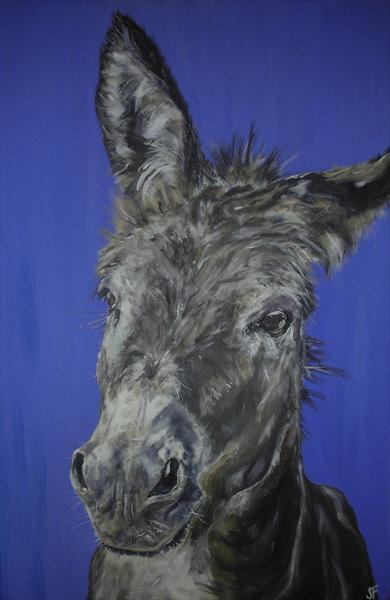 Wonky Donkey Limited Edition Print of 150 by Sam Fenner
