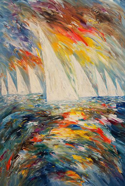 Sailing M 4 by Peter Nottrott