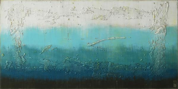 Oceanic Blues - 21A by Ronald Hunter